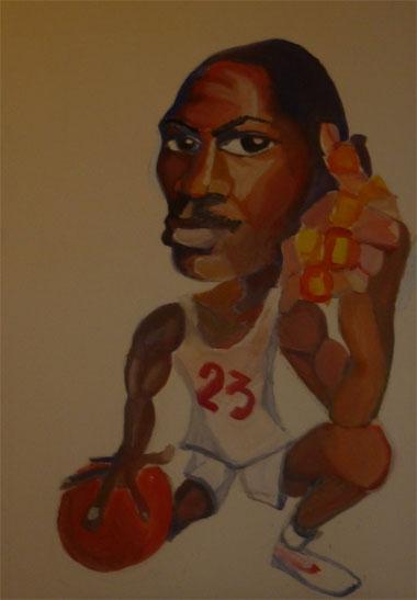 Michael Jordan by sillytoto